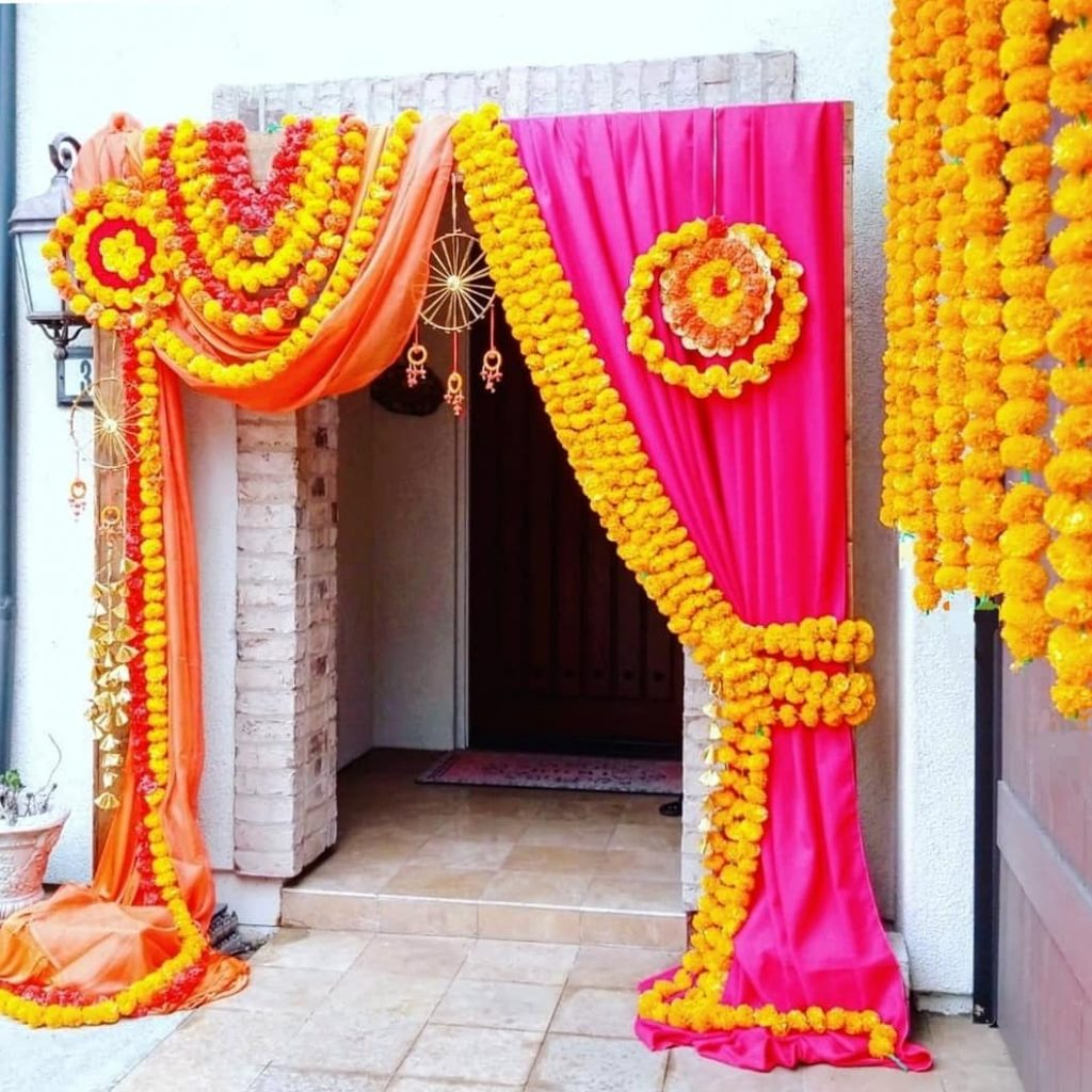 A colorful doorway!